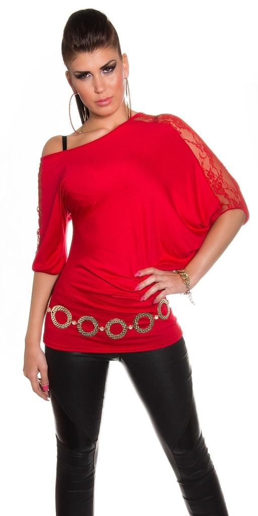 Koucla Asymetrické dámské tričko