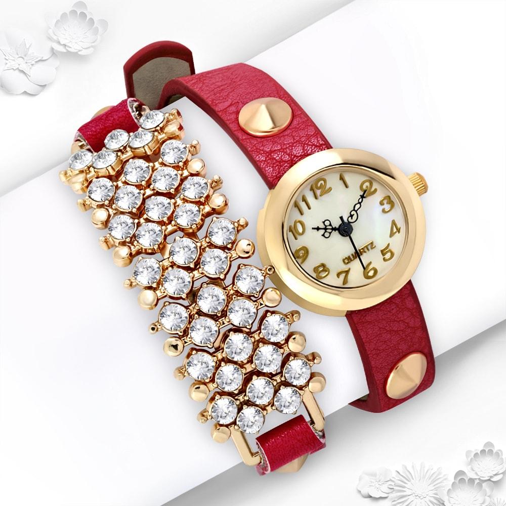 DAMSON Dámské elegantní hodinky