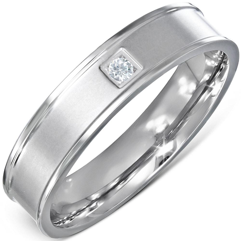 DAMSON Ocelový prsten