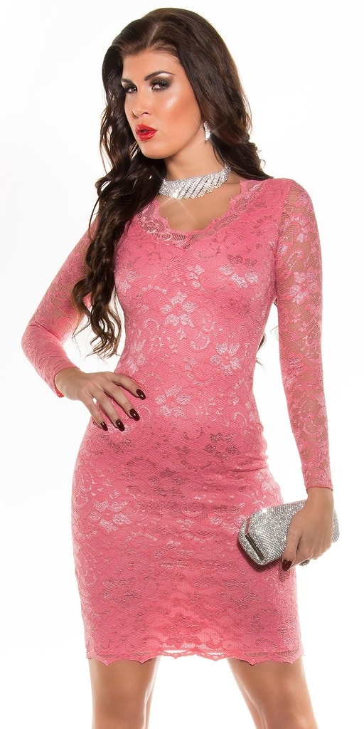 Koucla Krajkové dámské šaty