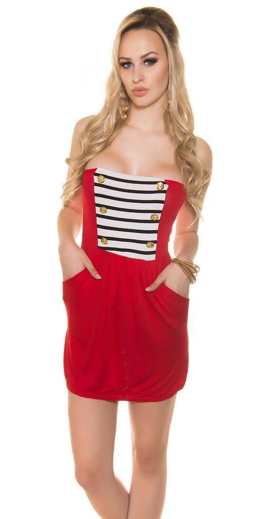 Koucla Letní mini šaty