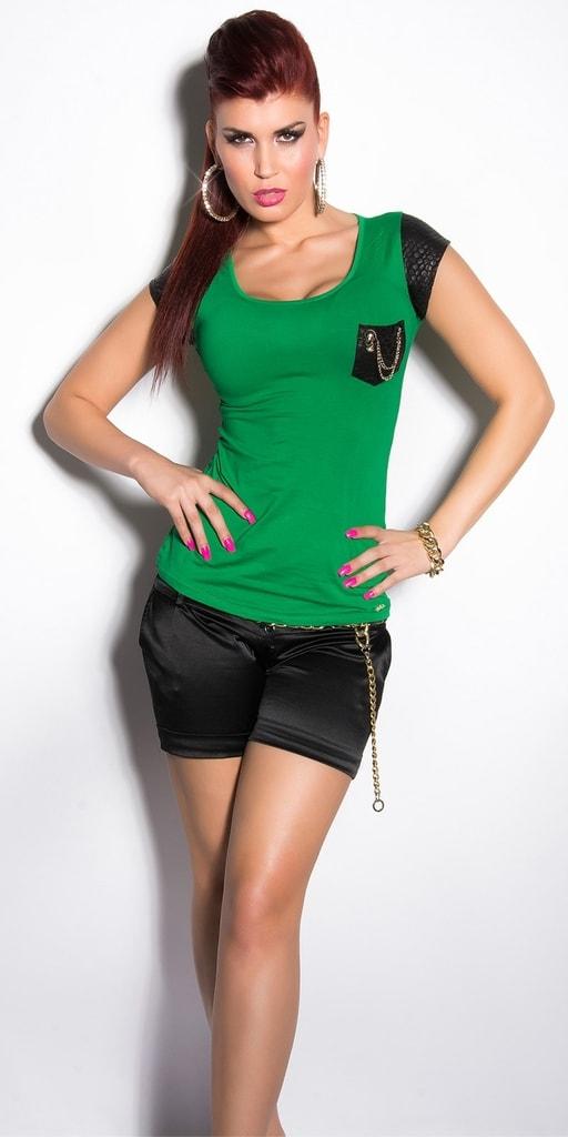 Koucla Letní tričko zelené
