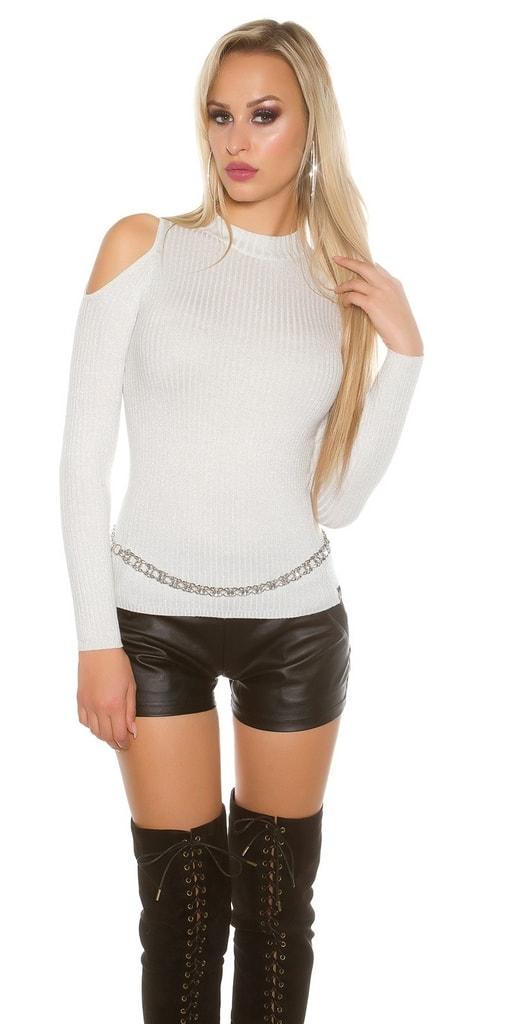 Koucla Dámské pulovry s lurexem