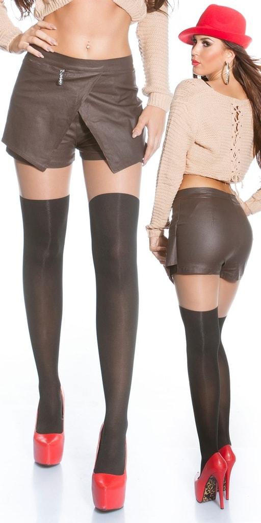 Koucla Dámská sukně s kraťasy