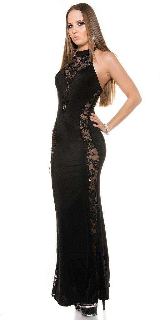 Koucla Černé sexy šaty
