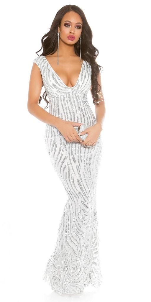 Koucla Plesové dámské šaty