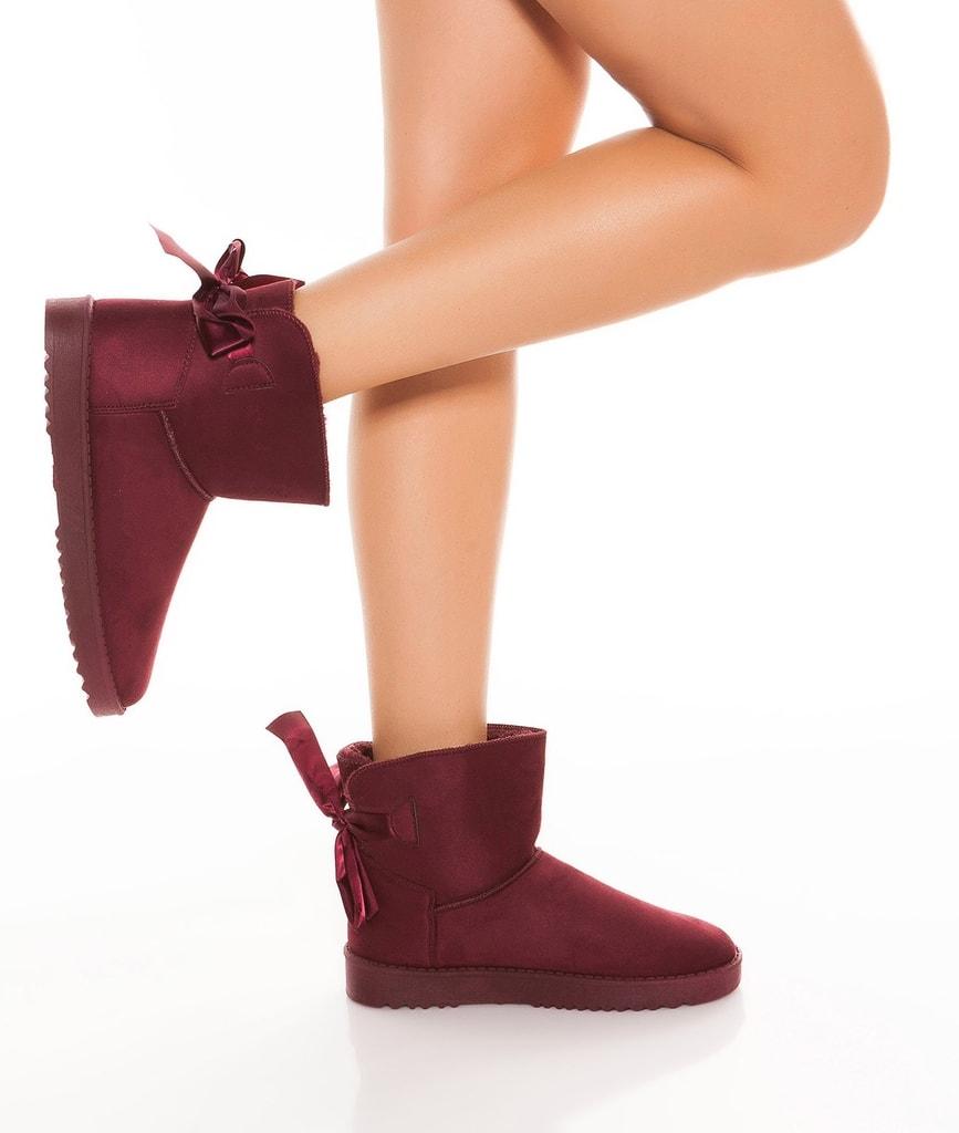Koucla Kotníkové zimní boty