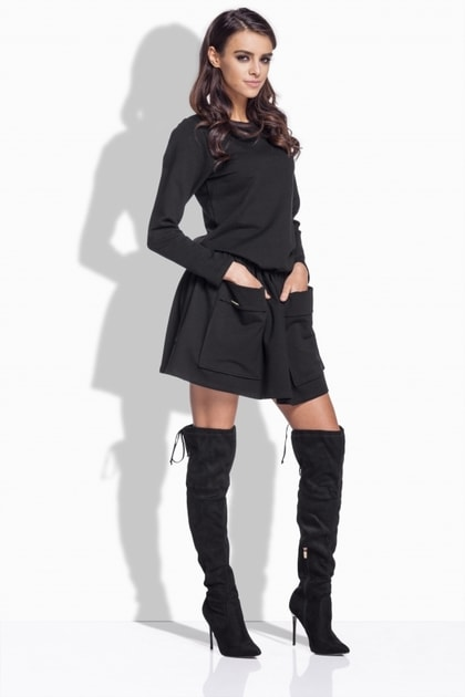 9ef2775ab44b Dámske šaty s vreckami - Lemoniade - Šaty pre voľný čas - vasa-moda.sk