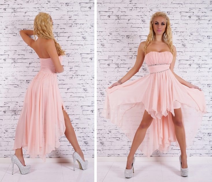 6e244b40896 Šaty na ples - růžové - EU - Večerné šaty a koktejlové šaty - vasa-moda.sk