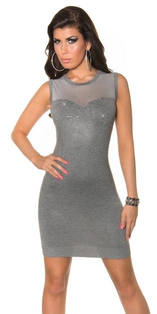 Úpletové šaty - i-moda.cz b71b0d32c8
