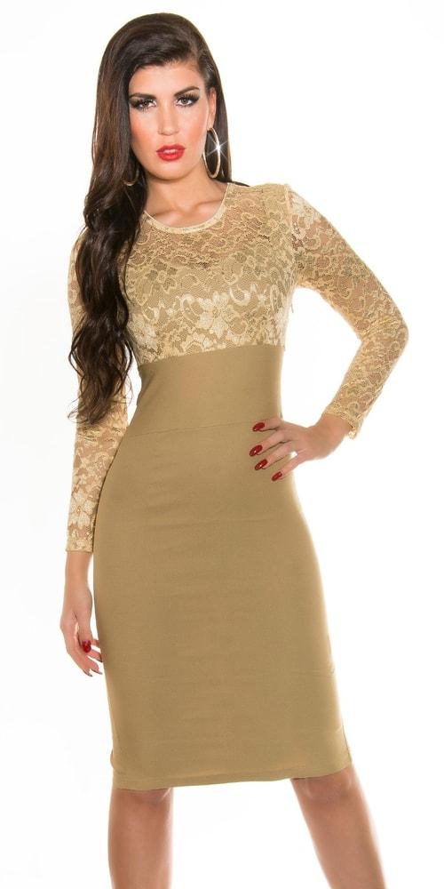 Puzdrové šaty do spoločnosti - Koucla - Večerné šaty a koktejlové šaty ... b171c744edc