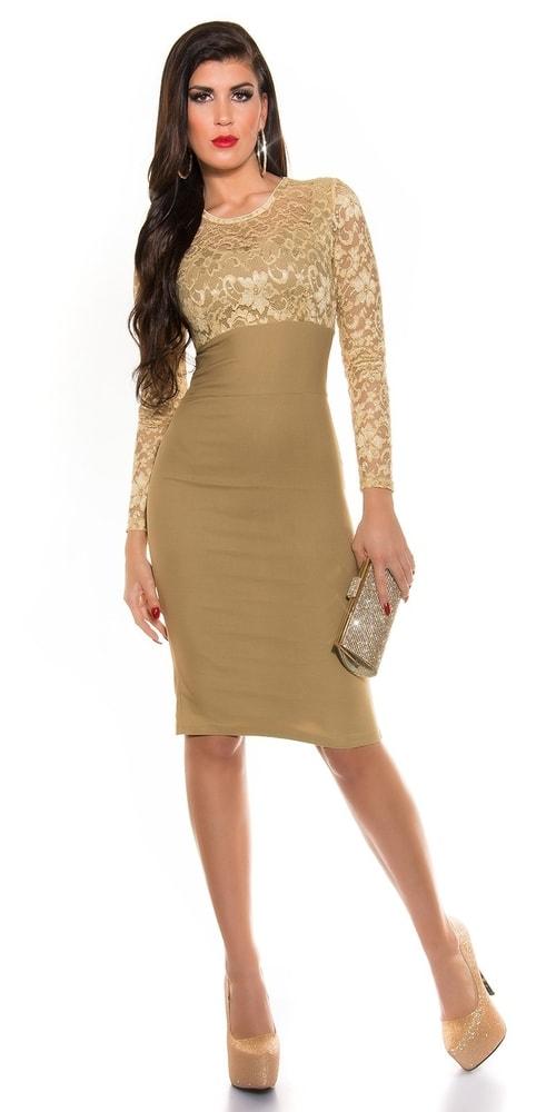 Puzdrové šaty do spoločnosti - Koucla - Večerné šaty a koktejlové ... d5881a5879e