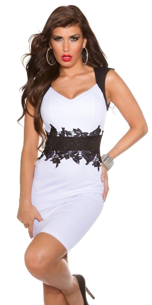 95df54959d8 Večerní šaty bílé - Koucla - Večerní šaty a koktejlové šaty - i-moda.cz