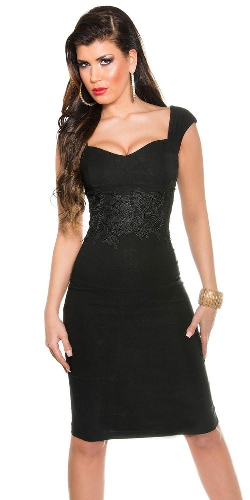 Večerné šaty čierne - Koucla - Večerné šaty a koktejlové šaty - vasa ... ba047a6f77e