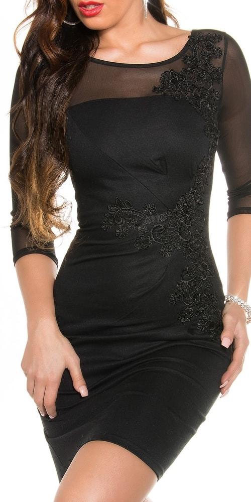 Elegantné puzdrové šaty - Koucla - Večerné šaty a koktejlové šaty ... e8b0a947c49