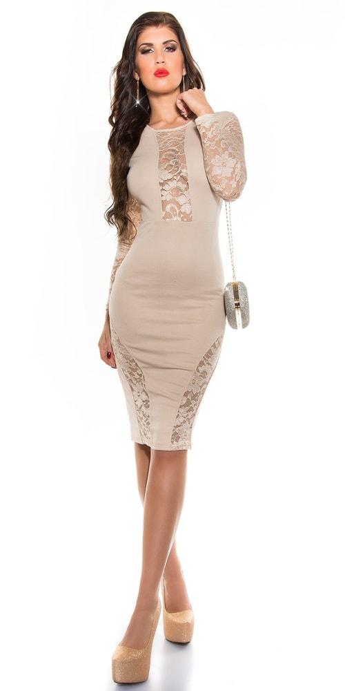 Dámské šaty s krajkou - Koucla - Večerní šaty a koktejlové šaty - i ... 25da1638c6