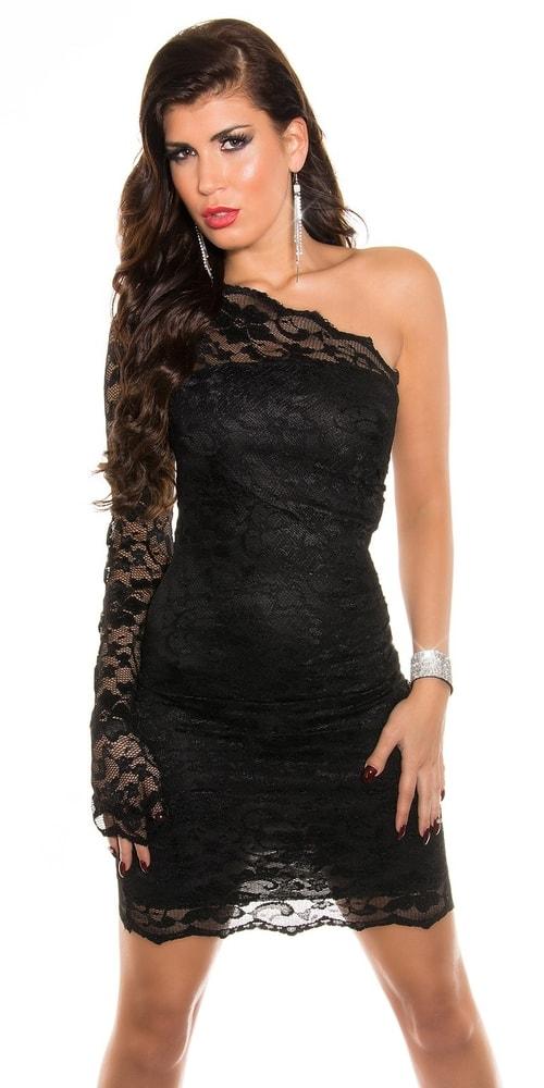 Černé krajkové šaty - Koucla - Večerní šaty a koktejlové šaty - i ... 423ea0a3e5