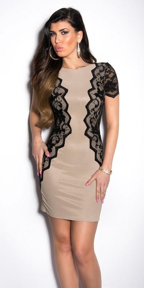 b4399a5b77c6 Elegantné šaty s čipkou - Koucla - Večerné šaty a koktejlové šaty ...