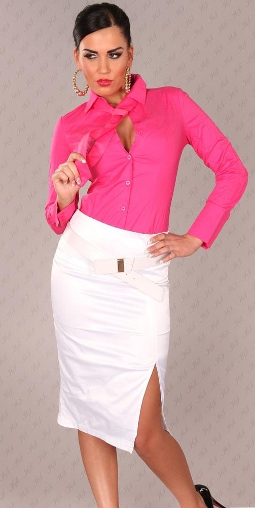 Elegantní dámská sukně Koucla in-su1067wh