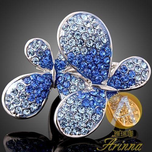Dámské prsteny Swarovski šperky Pr199