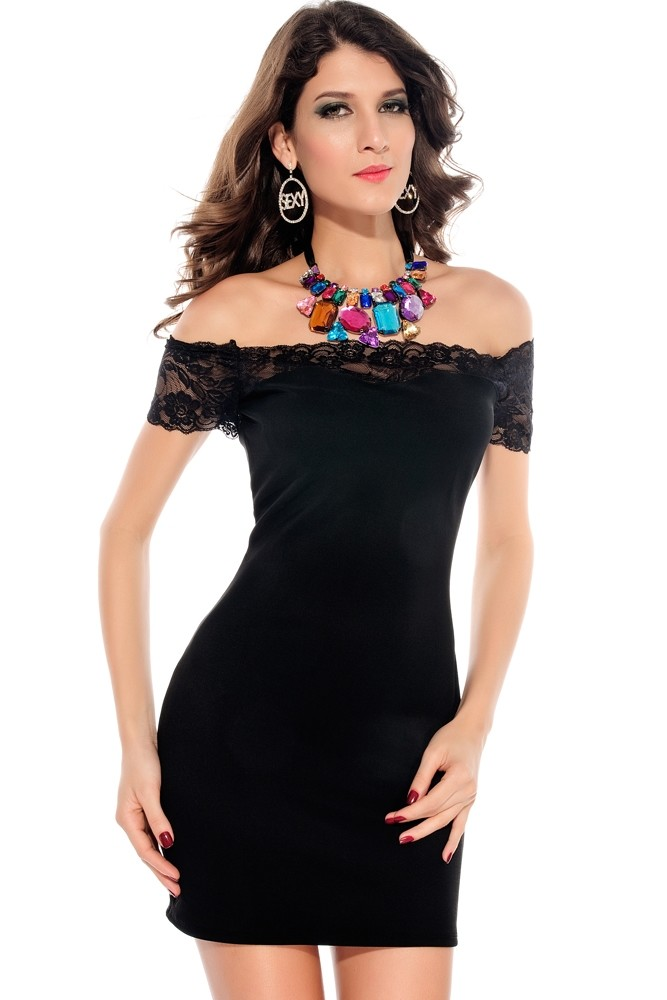 Večerné šaty čierne - DAMSON - Večerné šaty a koktejlové šaty - vasa ... 59f5fbd2e5b