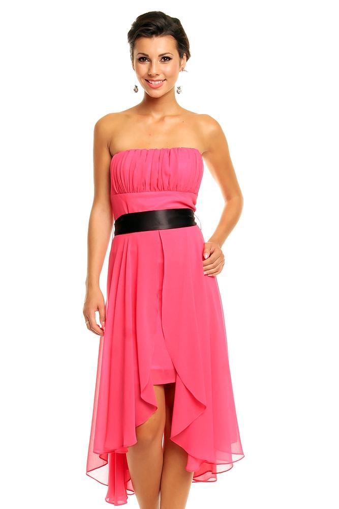Ružové spoločenské šaty - Mayaadi - Krátke plesové šaty - vasa ... 168f3de8e6a