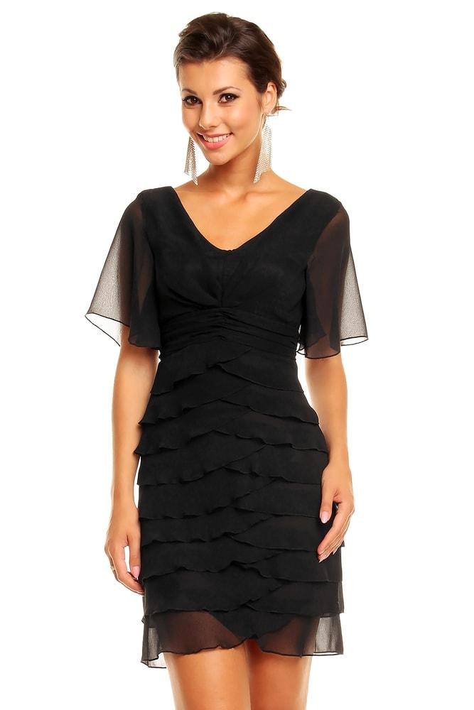 Večerné šaty s volánmi - Mayaadi - Večerné šaty a koktejlové šaty ... 9ff1e431b48