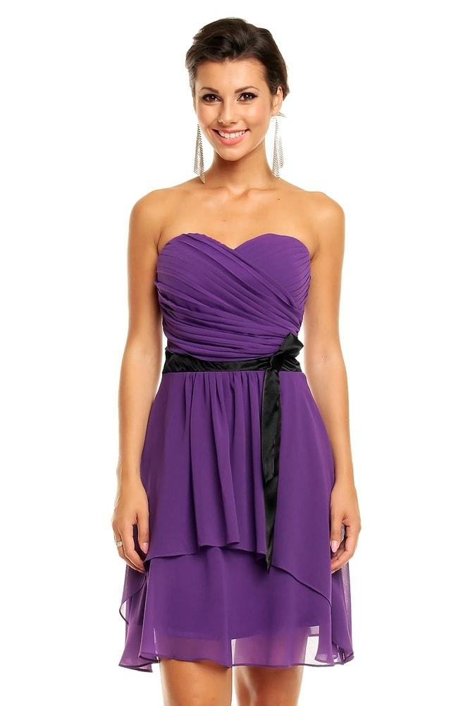 Společenské šaty fialové - Mayaadi - Večerní šaty a koktejlové šaty - i ... 1fe0586793