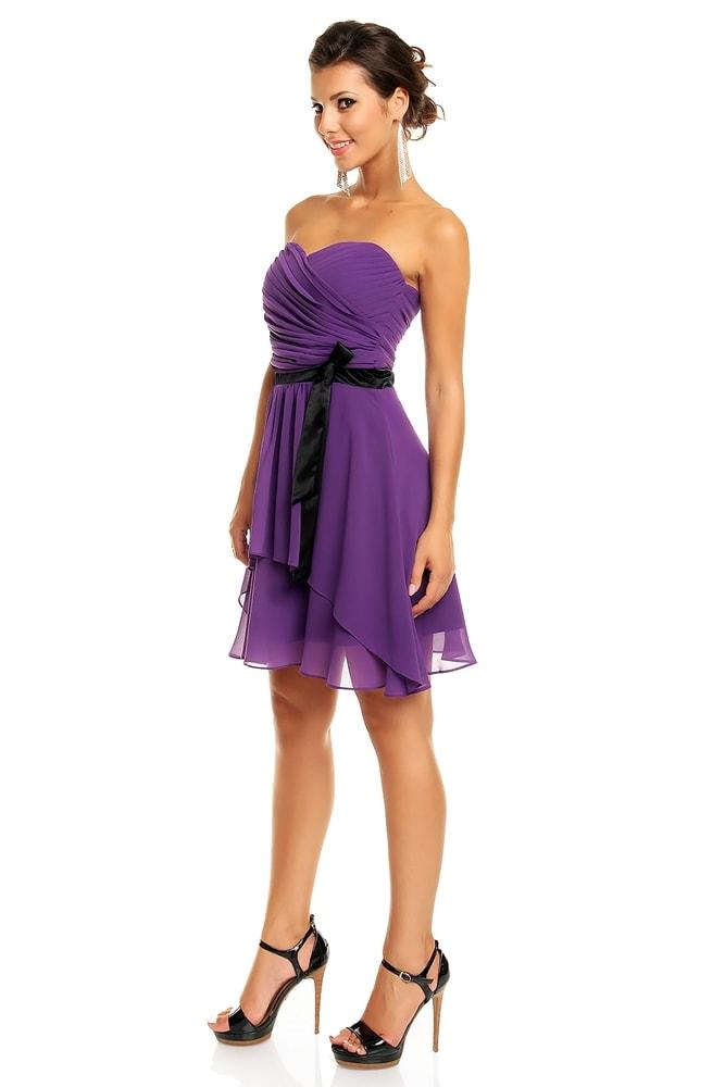 Společenské šaty fialové - Mayaadi - Večerní šaty a koktejlové šaty ... 2ac91033f6