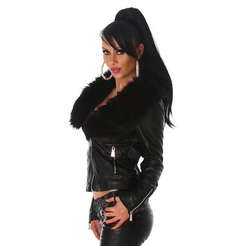 Luxusná koženková bunda. Home ›  Dámske oblečenie ›  Dámske bundy ›  Bundy  dámske jarné a jesenné › ... 9b533b16830
