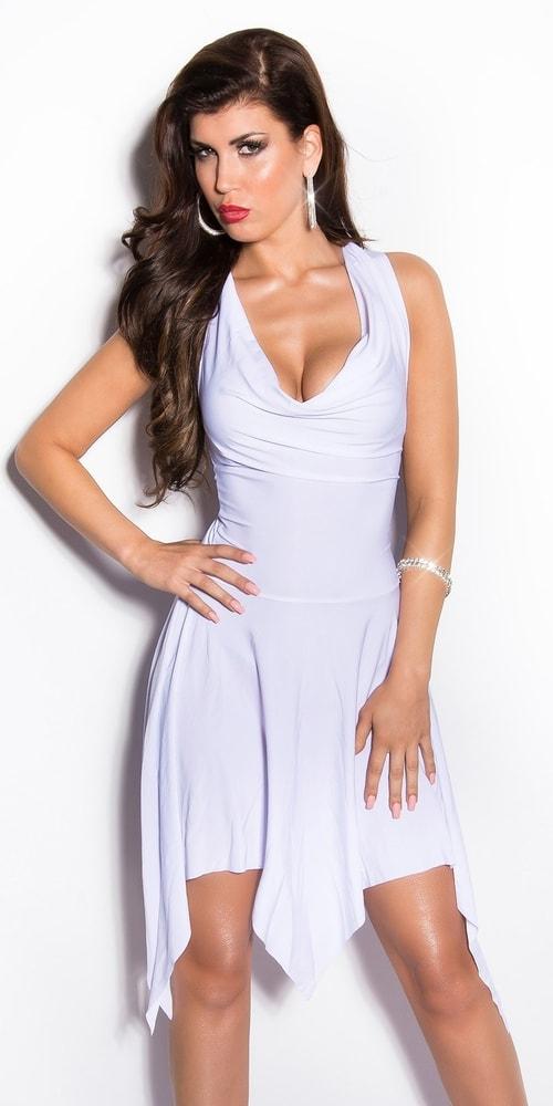 Šaty spoločenské biele - Koucla - Večerné šaty a koktejlové šaty ... 64a394f1d80