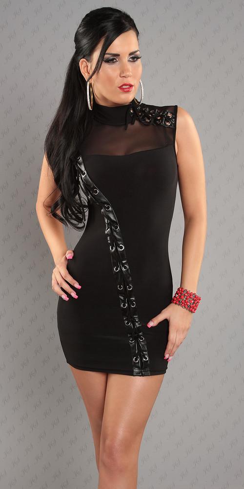 a93e10d272b Sexy šaty - Queen O.F. - Večerní šaty a koktejlové šaty - i-moda.cz