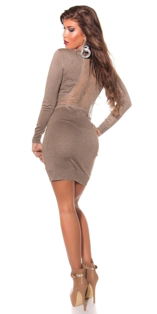 Dámské úpletové šaty Koucla in-sat1577ta bc03e0e48c