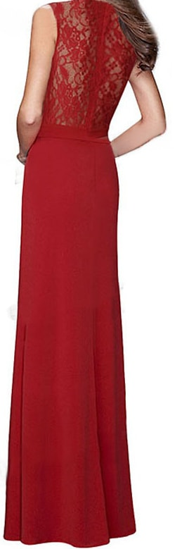 Červené šaty dlhé - DAMSON - Večerné šaty a koktejlové šaty - vasa ... 3fd6a4c8cb0