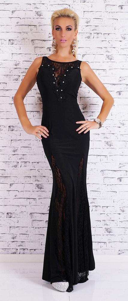 Dlhé večerné šaty - čierne - EU - Večerné šaty a koktejlové šaty - vasa ... e4d15cd928b