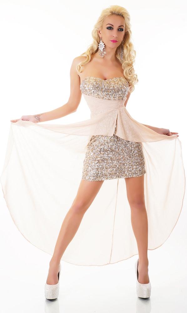 Plesové krátke šaty - EU - Krátke plesové šaty - vasa-moda.sk 79bf90aded9