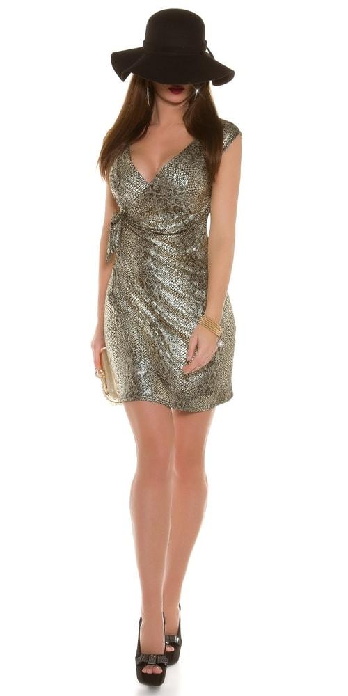 Sexy párty šaty - zlaté - Koucla - Večerné šaty a koktejlové šaty ... df64c34201