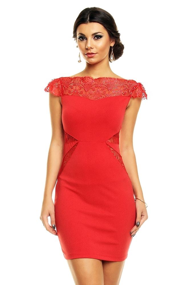 Červené elegantné šaty - EU - Večerné šaty a koktejlové šaty - vasa ... 0d1487a72a