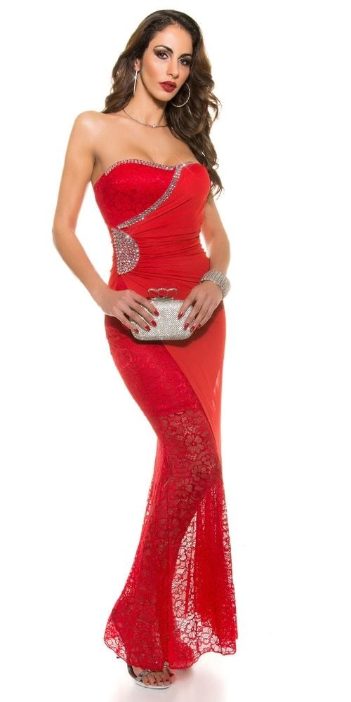 Červené plesové šaty - Koucla - Večerní šaty a koktejlové šaty - i ... b5b8774a882
