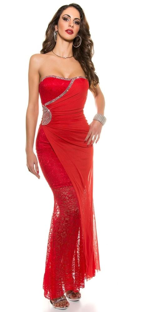 Červené plesové šaty - Koucla - Večerné šaty a koktejlové šaty - vasa ... 85ce7b31565