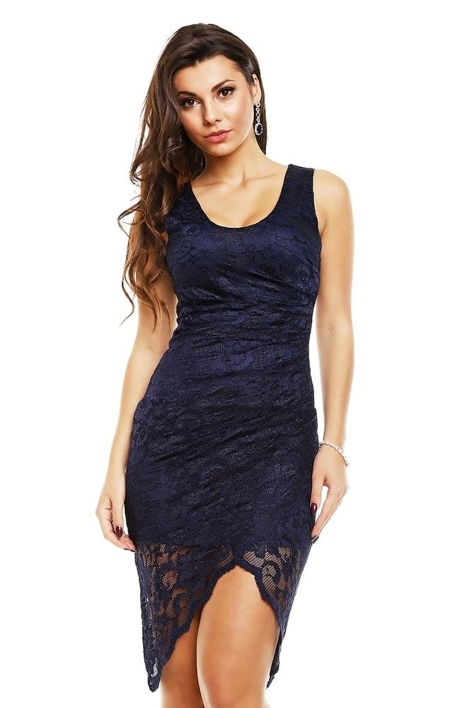 9176ee53b8d Krajkové asymetrické šaty - Mayaadi - Večerní šaty a koktejlové šaty - i ...