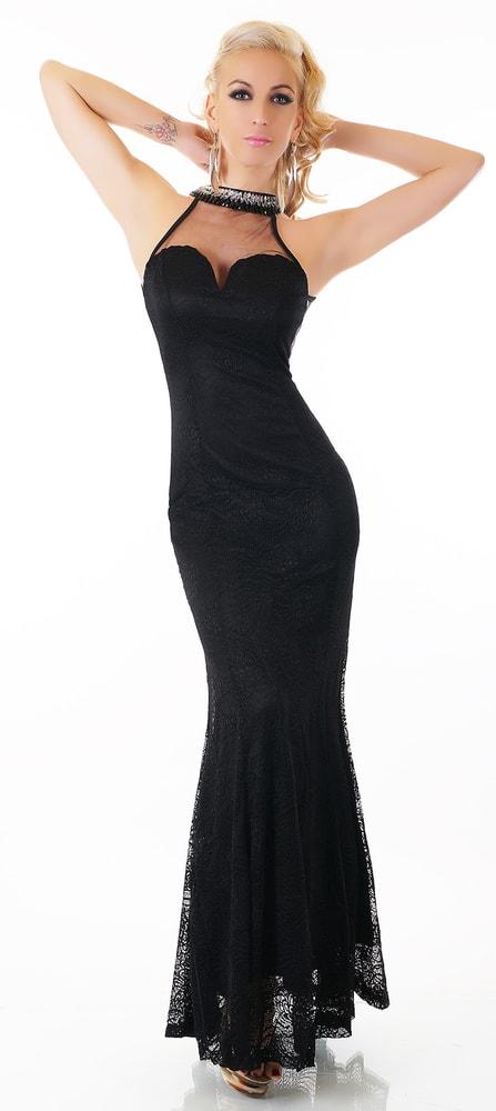 Čierne spoločenské šaty - EU - Večerné šaty a koktejlové šaty - vasa ... b689b3b8b8e