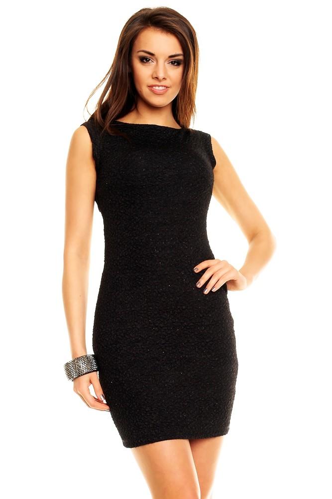 c6f6137b6de Černé společenské šaty - Mayaadi - Večerní šaty a koktejlové šaty - i ...