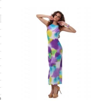 Dámské dlouhé šaty DUHA - DAMSON - Dlouhé letní šaty - i-moda.cz 631688002f