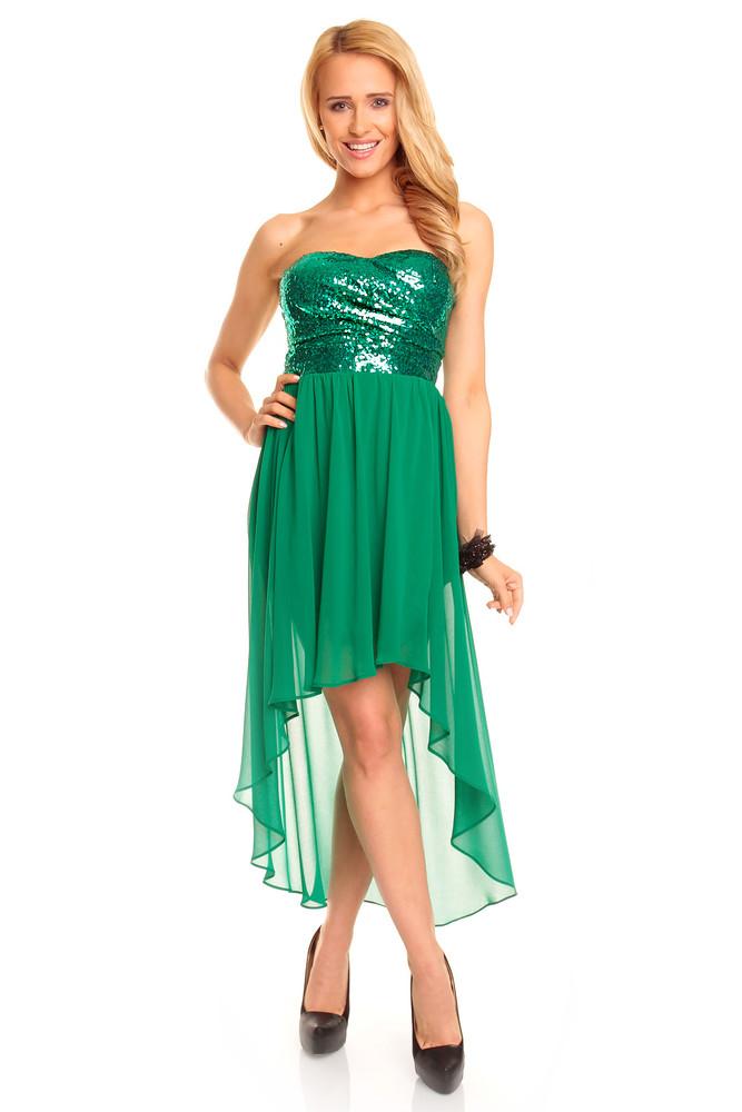 0702d9be53d Zelené plesové šaty - Mayaadi - Večerní šaty a koktejlové šaty - i ...