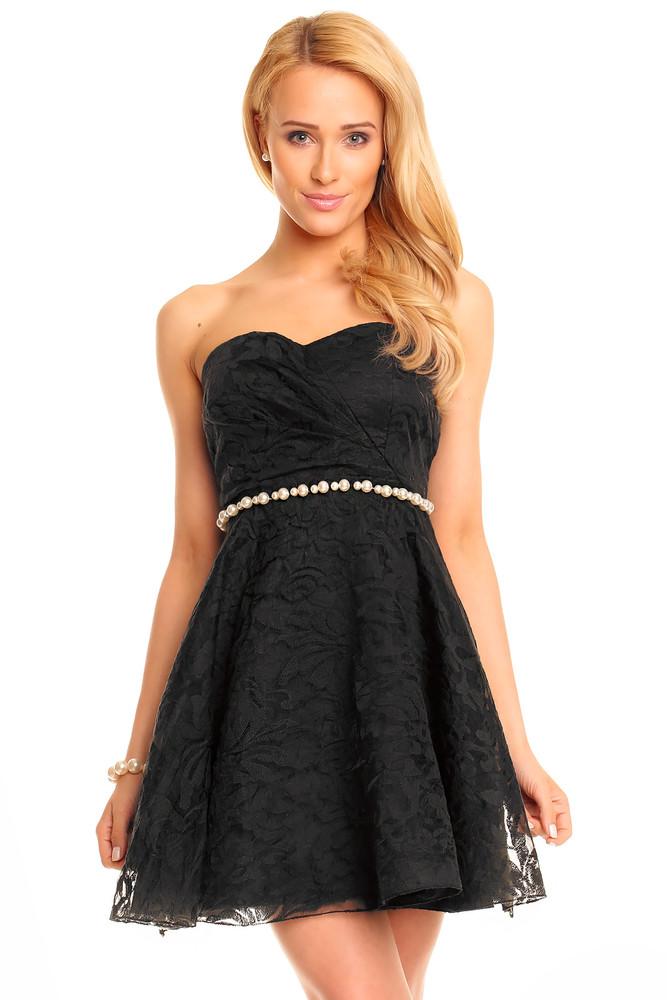 2c870545df3 Černé koktejlové šaty - Mayaadi - Večerní šaty a koktejlové šaty - i ...