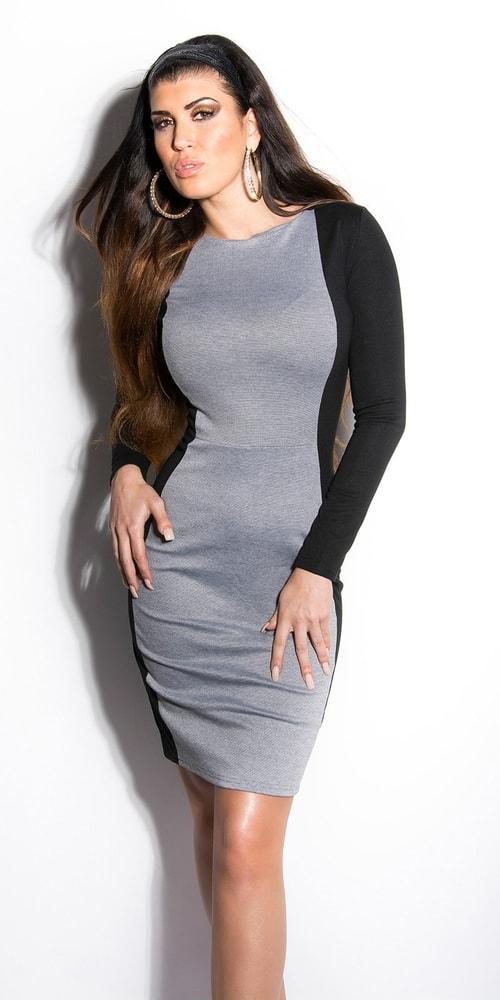 Dámske elegantné šaty - Koucla - Business šaty - vasa-moda.sk e76f915da4f