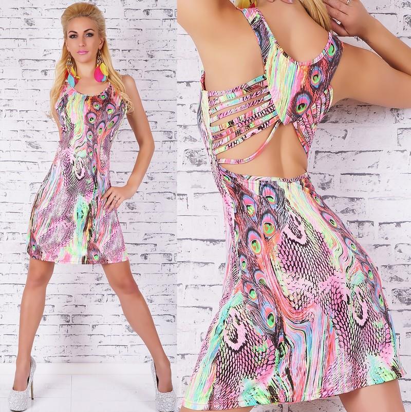 Letné dámske šaty - EU - Krátke letné šaty - vasa-moda.sk ab2eba5fd40