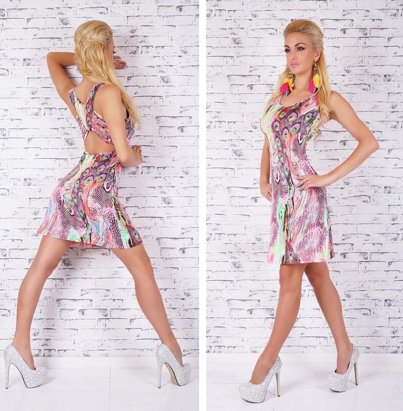 Letné dámske šaty - EU - Krátke letné šaty - vasa-moda.sk b151ca9dcf0