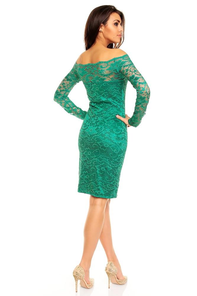 Krajkové společenské šaty zelené - Mayaadi - Večerné šaty a ... 1bd766a9ce